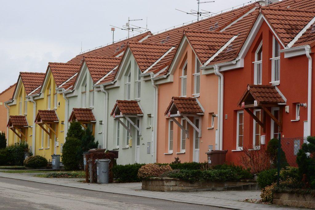 Fassadengestaltung Beispiel Fassadenfarbe Hausanstrich Hausfassade
