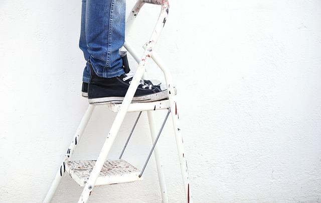 Decke Tapezieren Decken Tapezieren Höhenangst